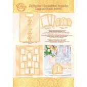 Плакат Свадьба, План-рассадка гостей, Золото, 42*59 см, 1 шт.