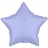 Шар (19''/48 см) Звезда, Синие сумерки, 1 шт.