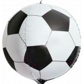 Шар (24''/61 см) Сфера 3D, Футбольный мяч, 1 шт.