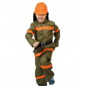 Карнавальный костюм Пожарный, р-р S, 1 шт.