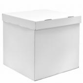 Коробка для воздушных шаров Белый, 70*70*70 см, 1 шт.