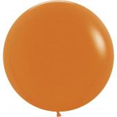 Шар (24''/61 см) Оранжевый (061), пастель, 3 шт.