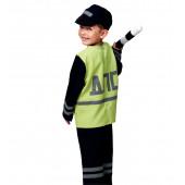Карнавальный костюм Полицейский ДПС, р-р S, 1 шт.