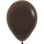 Шар (12''/30 см) Шоколадный (076), пастель, 50 шт.