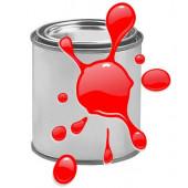 Краска для печати на воздушных шарах, Красный, 0,87 л.