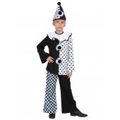 Карнавальный костюм Пьеро, р-р S, 1 шт.