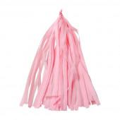 Гирлянда Тассел, Светло-розовый, 35*12 см, 12 листов.