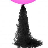 Гирлянда-подвеска Спираль, Черный, 1 шт.