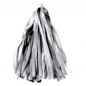 Гирлянда Тассел, Серебро, 35*12 см, 12 листов.