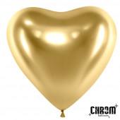 Сердце (12''/30 см) Золото, хром, 5...