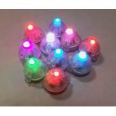 Подсветка в шар Разноцветная (мигающая), Круглая, 10 шт