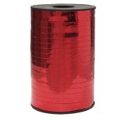 Лента (0,5 см*250 м) Красный, Металлик, 1 шт.