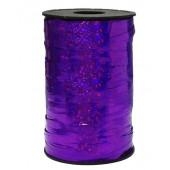 Лента (0,5 см*250 м) Фиолетовый, Голография, 1 шт.