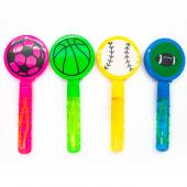 Мыльные пузыри, Спортивные мячи, Трещалка, 30 мл, 24 шт.