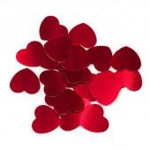 Конфетти Сердце, Красный, 1,2 см, 17 г.