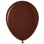 Шар (12''/30 см) Шоколадный (442), пастель, 100 шт.