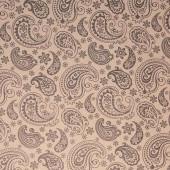 Упаковочная бумага, Крафт 70гр (0,7*10 м) Экошик, Огуречный узор, Черный, 1 шт.