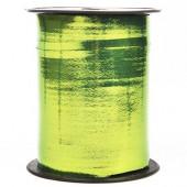 Лента (0,5 см*250 м) Салатовый, Металлик, 1 шт.