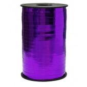 Лента (0,5 см*250 м) Фиолетовый, Металлик, 1 шт.