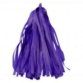 Гирлянда Тассел, Фиолетовый, 35*12 см, 12 листов.