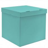Коробка для воздушных шаров Тиффани, 60*60*60 см, 1 шт.