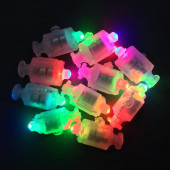 Подсветка в шар Разноцветного свечения с кнопкой, 10 шт