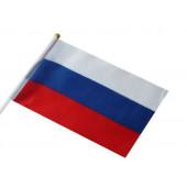 Флаг Россия 15х20см, 1шт