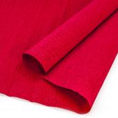 Упаковочная гофрированная бумага (0,5*2,5 м) Вишневый, 1 шт.
