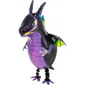 Шар (43''/109 см) Ходячая Фигура, Сказочный дракон, 1 шт.