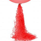 Гирлянда-подвеска Спираль, Красный, 1 шт.