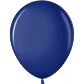 Шар (10''/25 см) Темно-синий (452), пастель, 100 шт.