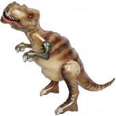 Шар (51''/130 см) Ходячая Фигура, Динозавр Тираннозавр, 1 шт. в упак.
