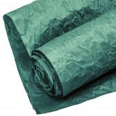 Упаковочная жатая бумага (0,7*5 м) Эколюкс, Темно-зеленый, 1 шт.