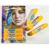 Аквагрим Фантазия, карандаши, 3 цвета