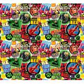 Упаковочная бумага (0,7*1 м) Леди Баг и Супер-кот, Комиксы, 2 шт.