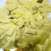 Конфетти фольга Прямоугольники, Золото, 5 см, 50 гр.