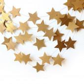 Гирлянда-подвеска Звезды, Золото, 230 см