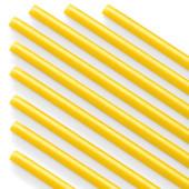 Палочки из пищевого пластика для шаров и сахарной ваты, Желтый, 100 шт.
