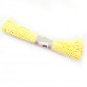 Шнур бумажный (0,2 см*47 м) Светло-желтый, 1 шт.
