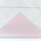 Упаковочная бумага, Тишью (0,5*0,65 м) Светло-розовый, 10 шт.
