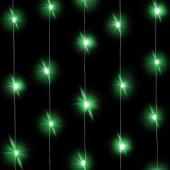 Светодиодная нить Зеленого свечения, 30 Led, 3 м