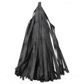 Гирлянда Тассел, Черный, 35*12 см, 12 листов.