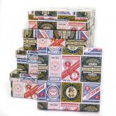 Набор коробок Этикетки, Модные лейблы, 30*30*10 см, 5 шт.