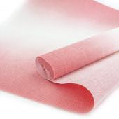 Упаковочная гофрированная бумага (0,5*2,5 м) Розовый, Градиент, 1 шт.