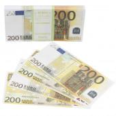 Деньги для выкупа, 200 Евро, 16*7 см, 98 шт.