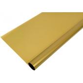 Упаковочная пленка матовая (0,7*7,5 м) Золото, 1 шт.