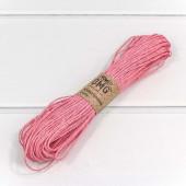 Шнур бумажный (0,15 см*50 м) Розовы...