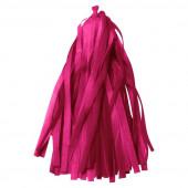 Гирлянда Тассел, Ярко-розовый, 35*12 см, 12 листов.
