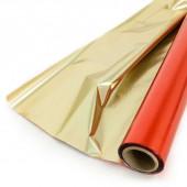 Полисилк (1*20 м) Красный/Золото, 1 шт.