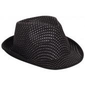Шляпа Ковбой, Черный/Серебро